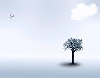 white krajobrazu ilustracji