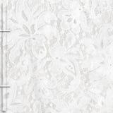 White lace background Stock Photo