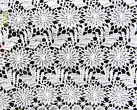 White lace background. Background of white floral lace royalty free stock image