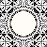 White lace background Stock Photos