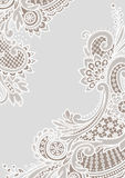 White Lace Backgrounds. Corners. Stock Photo