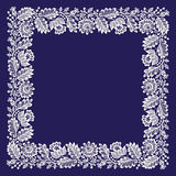 White Lace. Big Frame. Stock Images