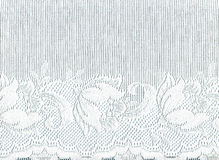 White lace border . Royalty Free Stock Photos