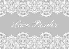 White lace borders Stock Photos