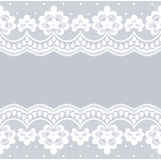 White lace borders Royalty Free Stock Photography