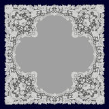 White Lace. Doily. Royalty Free Stock Photo