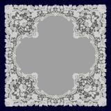 White Lace. Doily. Royalty Free Stock Photo
