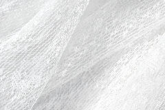 White lace fabric Royalty Free Stock Image