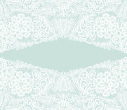 White lace Floral background, ornamental flowers. Element for we Royalty Free Stock Photos
