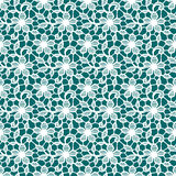 White Lace. Floral Seamless Pattern. Stock Photos