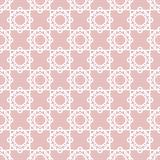 White lace floral seamless pattern texture background Stock Images