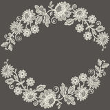 White Lace.  Flower Garland. Stock Images