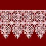 White Lace Frame royalty free illustration