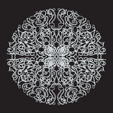 White lace pattern Royalty Free Stock Photography