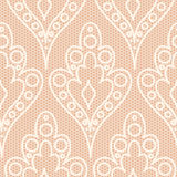 White lace pattern Royalty Free Stock Images