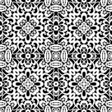 White lace pattern Stock Images