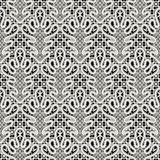 White lace pattern Royalty Free Stock Photo