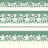 White Lace. Royalty Free Stock Image