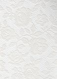 White Lace Roses Texture Stock Images