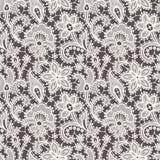 White Lace. Seamless Pattern. Stock Photos