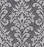 White Lace Seamless Pattern. Royalty Free Stock Photo