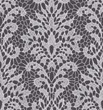 White Lace Seamless Pattern. Royalty Free Stock Photo