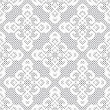 White lace seamless pattern Stock Photo