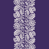 White Lace. Seamless Pattern. Stock Images