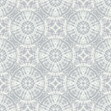 White lace, simple vector pattern. White lace on grey, clean and simple vector geometrical pattern, website background or fashionable textile, or holiday Stock Images