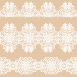 White lace tape Royalty Free Stock Images