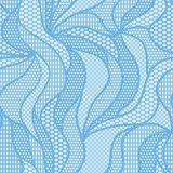 White lace vector fabric seamless pattern Royalty Free Stock Photo