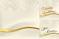 White lace for a wedding Royalty Free Stock Image