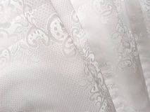 White Lace Window Blinds Abstract Pattern Royalty Free Stock Photography