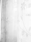 White Lace Window Blinds Abstract Pattern Royalty Free Stock Photos