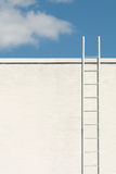 White ladder to the blue sky Stock Photography