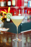 White Lady Cocktail Stock Photography