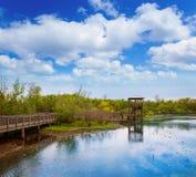 White Lake at Cullinan Park in sugarland Texas Royalty Free Stock Photography