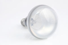 White Lamp. On white background Royalty Free Stock Photography