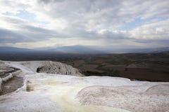 White Landscape Stock Image