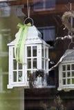 White lanterns Royalty Free Stock Photography