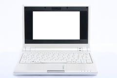 White laptop Stock Images