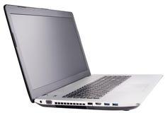 white laptopa Obrazy Royalty Free