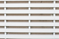 White Lath Wall Stock Photo