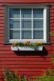 White lattice  window Royalty Free Stock Images