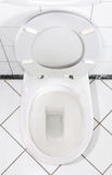 White lavatory Stock Photography