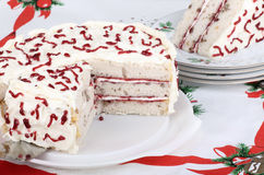 White Layer Cake Stock Photography