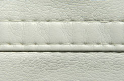 White leather Stock Photo