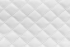 White leather background Royalty Free Stock Photos