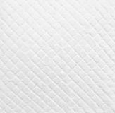 White leather background. Texture of white leather background Royalty Free Stock Images