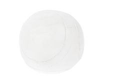 White leather ball Stock Images